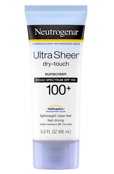 Neutrogena Ultra Sheer Sunscreen for Tattoos